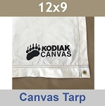 12x9 Kodiak Canvas Tarp and Floor Liner 1572