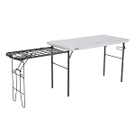 Lifetime 280312 Camping 4ft Cooking Specialty Tailgate Folding Table